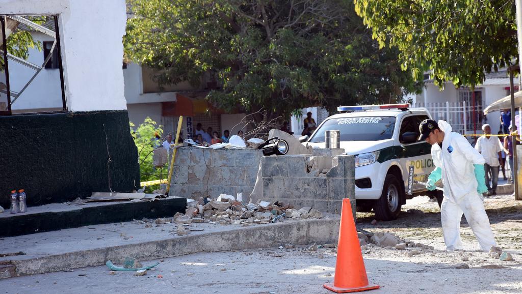 L'attaque contre le commissariat de Barranquilla