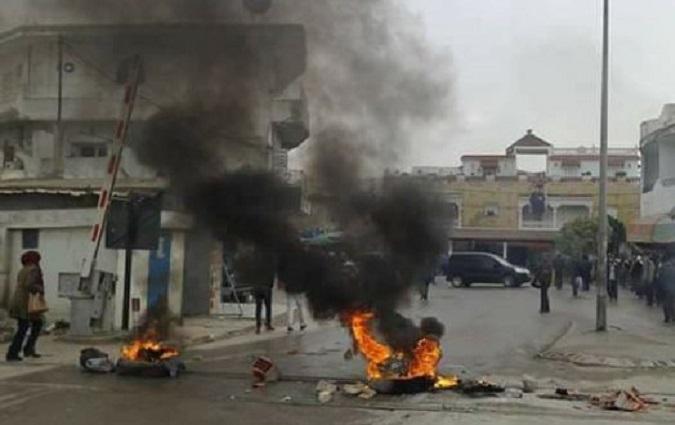 Affrontements en Tunisie