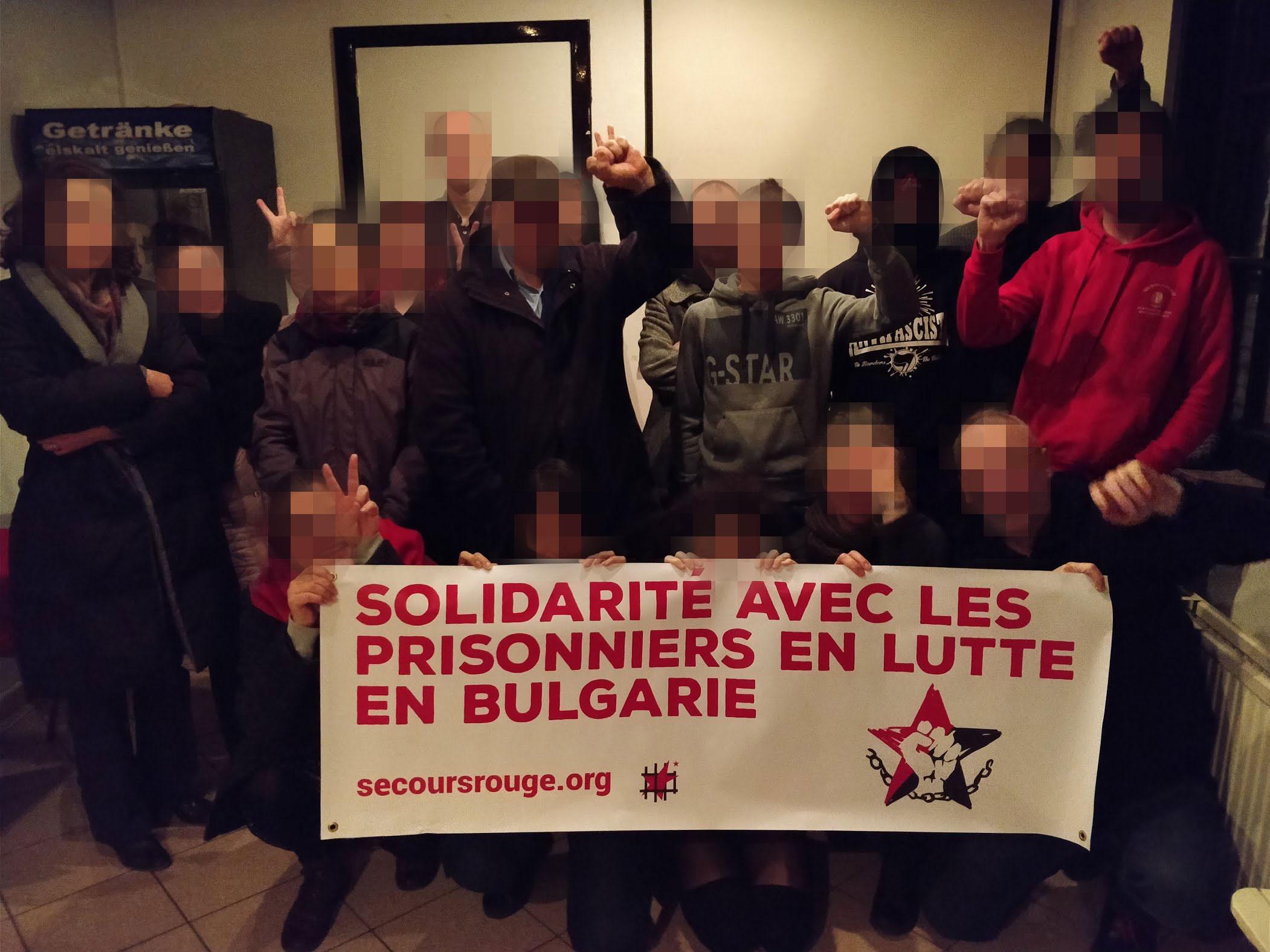 Soirée de solidarité avec la BPRA à Bruxelles (archive)