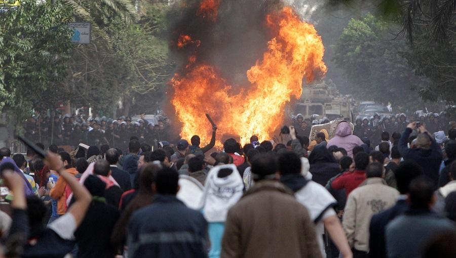 Les affrontements de ce samedi au Caire