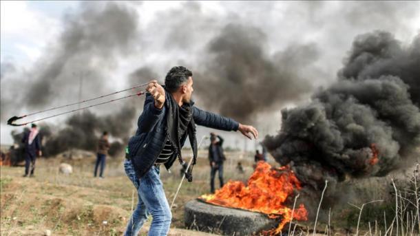 Affrontements aux frontières de la bande de Gaza