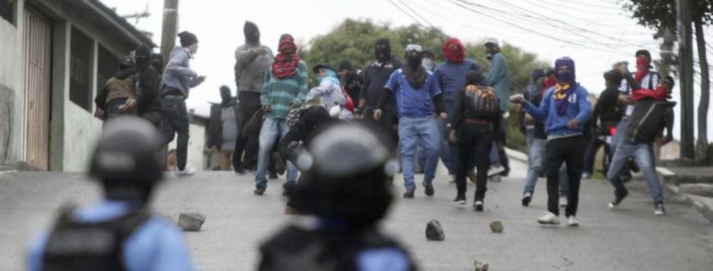 Affrontements au Honduras