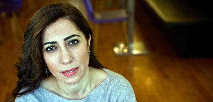 L'écrivaine et militante des droits de l'homme Nurcan Baysal, arrêtée dimanche soir à son domicile