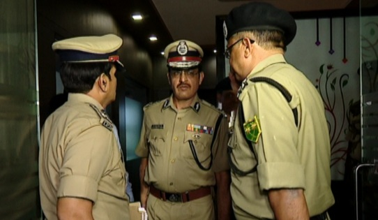 Policiers de l'Odisha