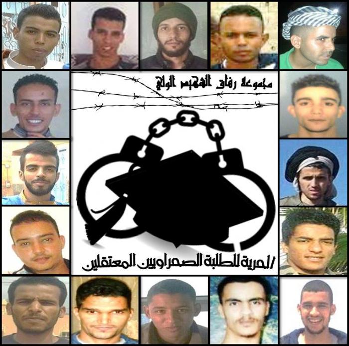 Les étudiants sahraouis emprisonnés