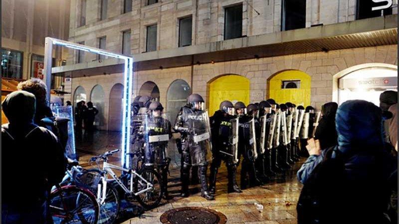 Nouvel an répressif à Genève