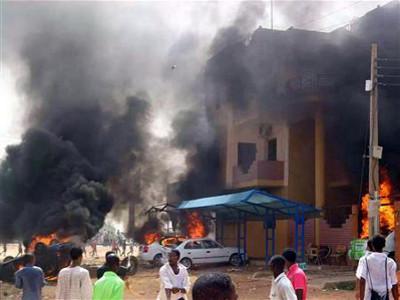 Les affrontements de Khartoum
