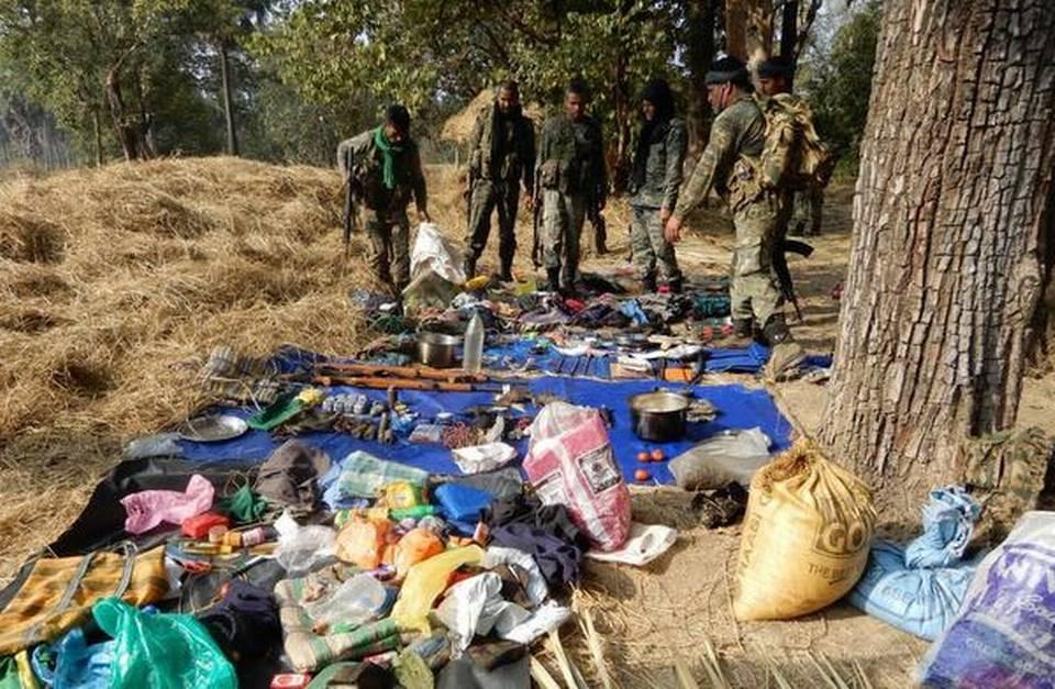 Saisie des forces de sécurité dans le Sukma