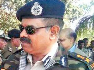 D M Awasthi, directeur général des opérations anti-naxales