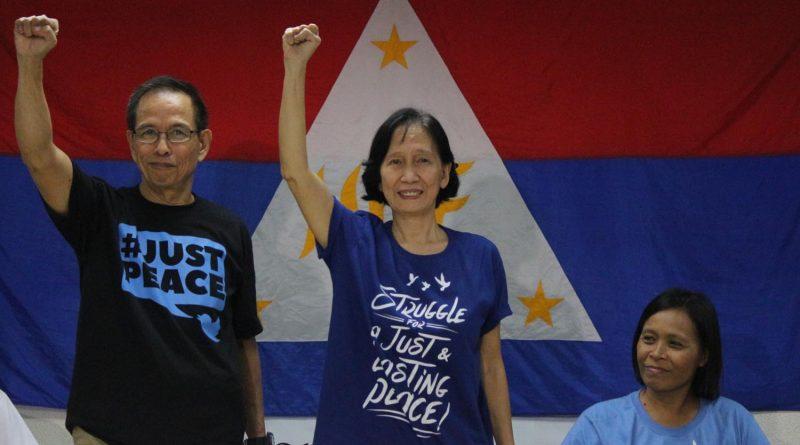Le couple Wilma et Benito Tiamzon