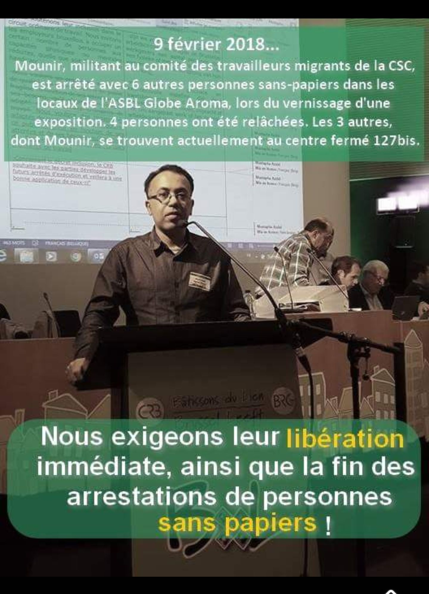 Liberté pour Mounir !