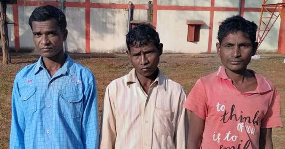 Trois présumés guérilleros arrêté dans le Bijapur