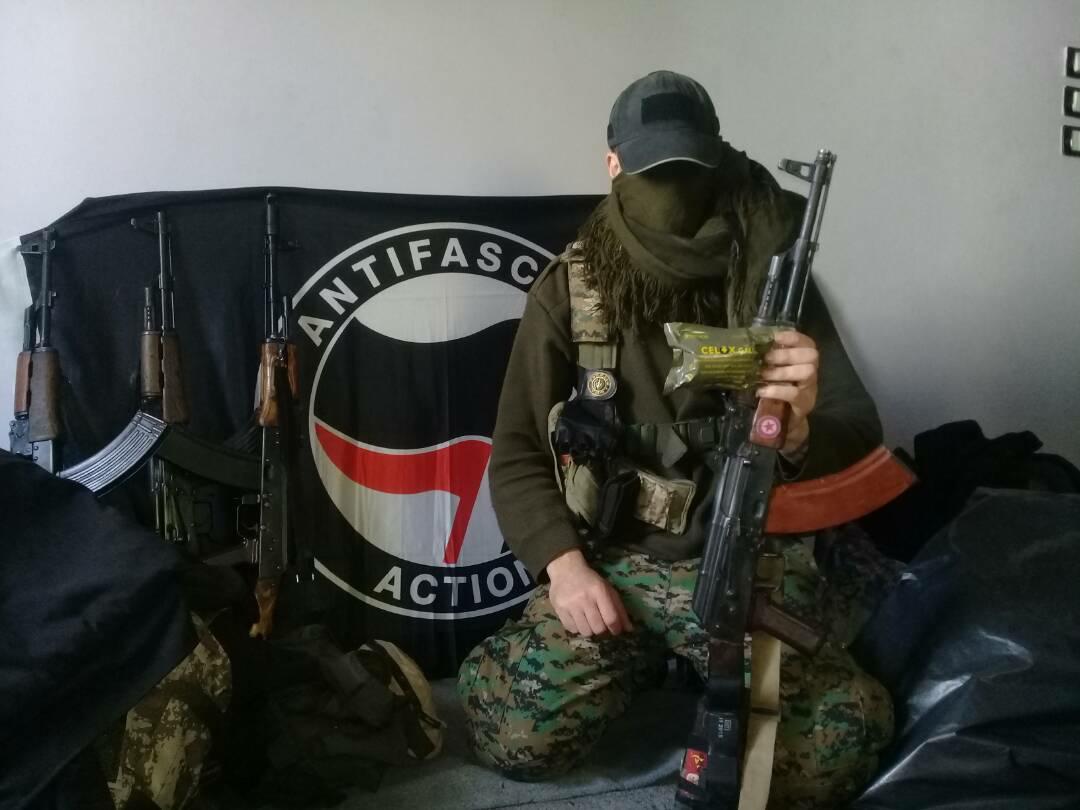 Du Celox pour les Forces Antifascistes à Afrin