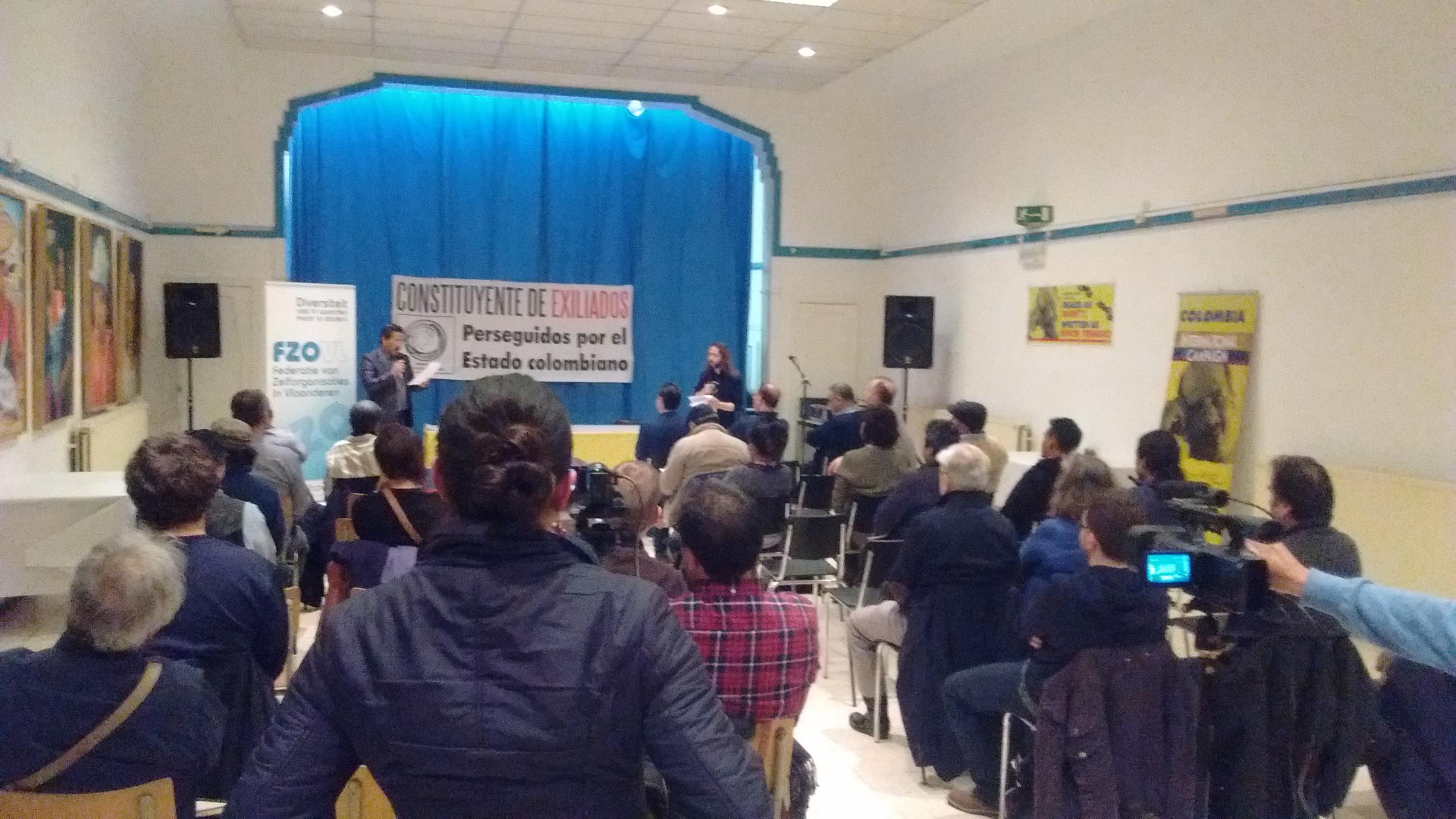L'Assemblée des exilés politiques colombiens