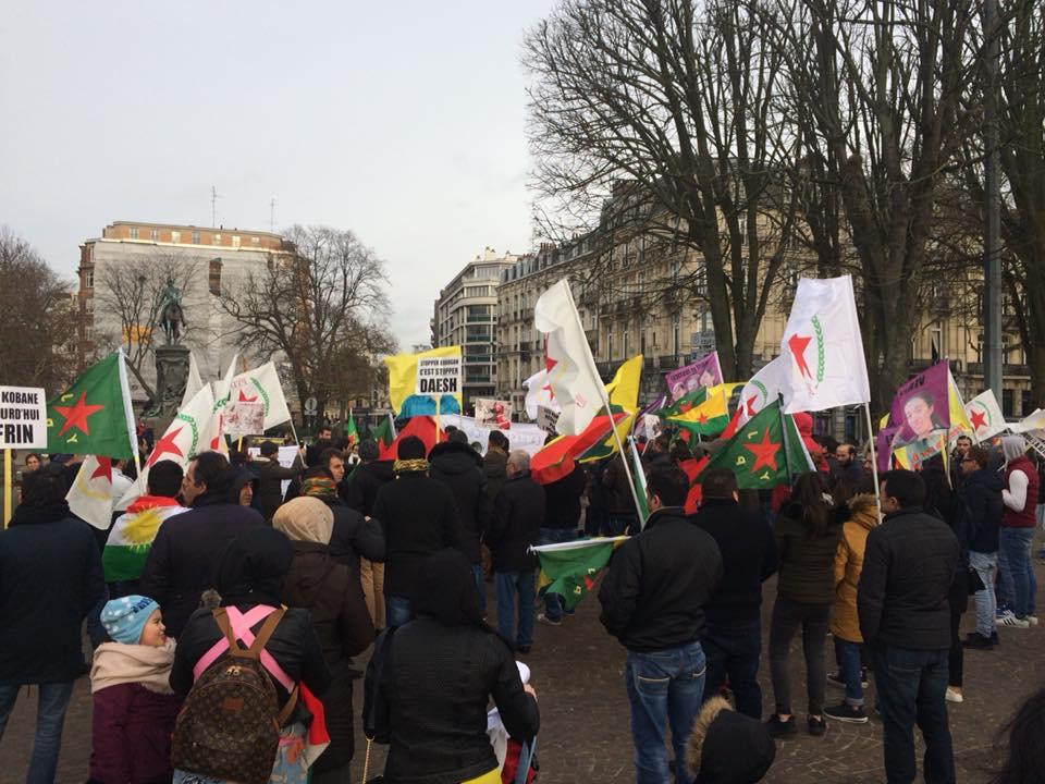Au rassemblement de Lille