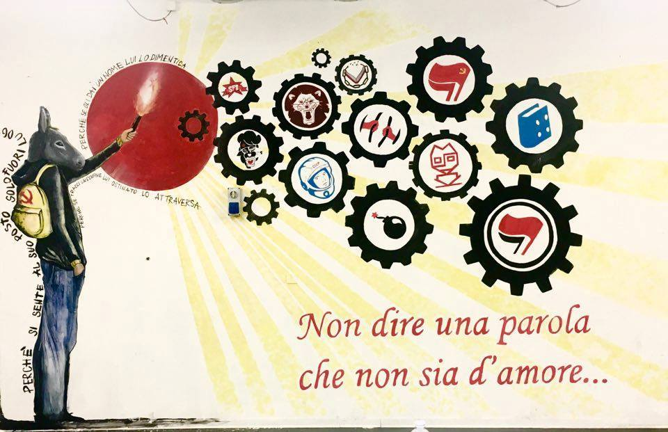 La Mensa Occupata à Naples.