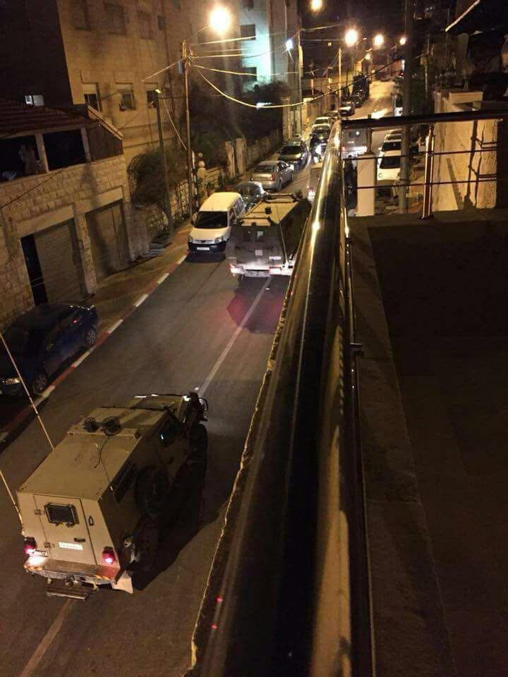 Les blindés israéliens entrent à Naplouse