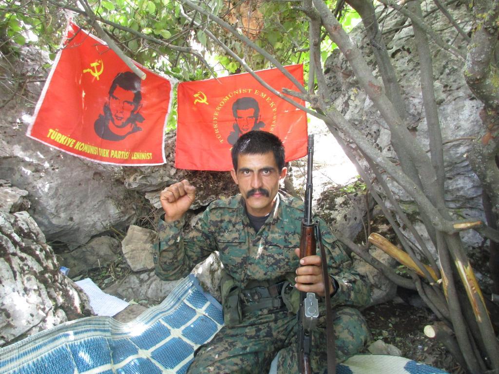 Emre Bora, combattant du TKEP/L