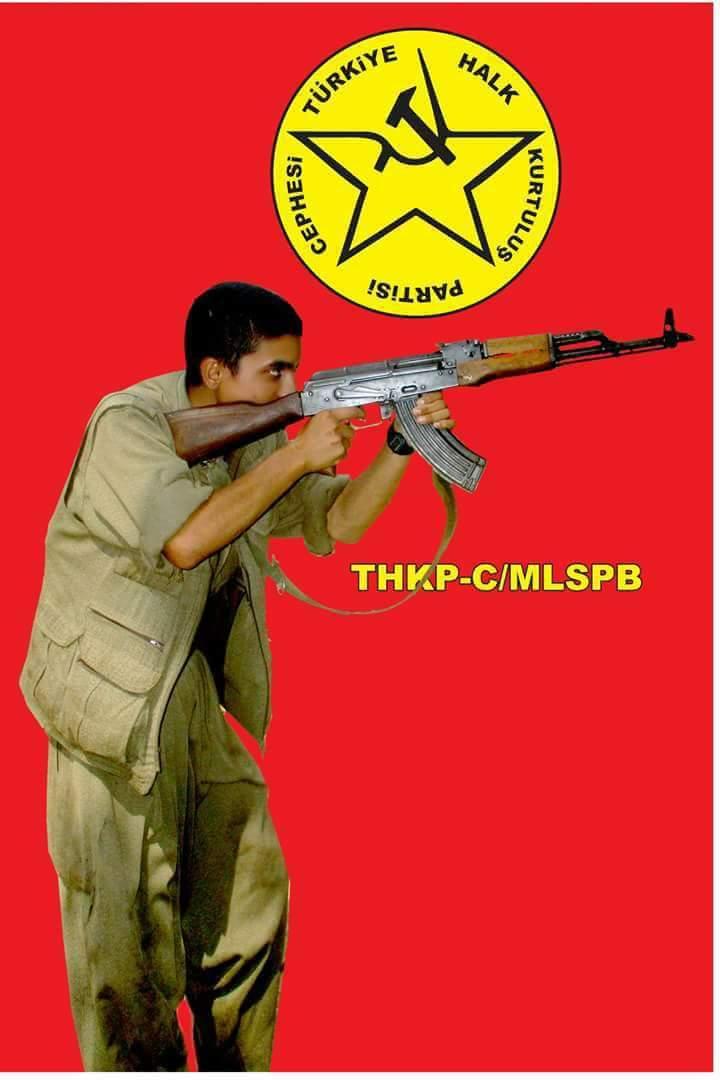 Affiche du THKP-C / MLSPB en hommage à Ramazan Güleken