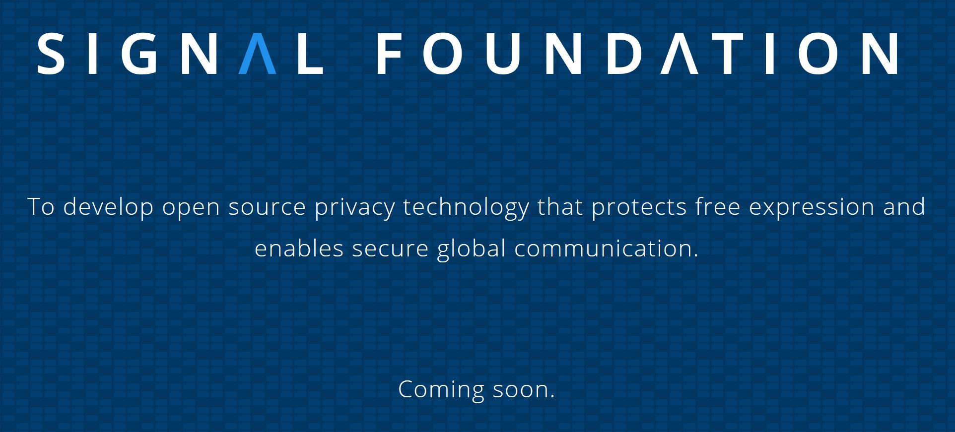 Signal Foundation