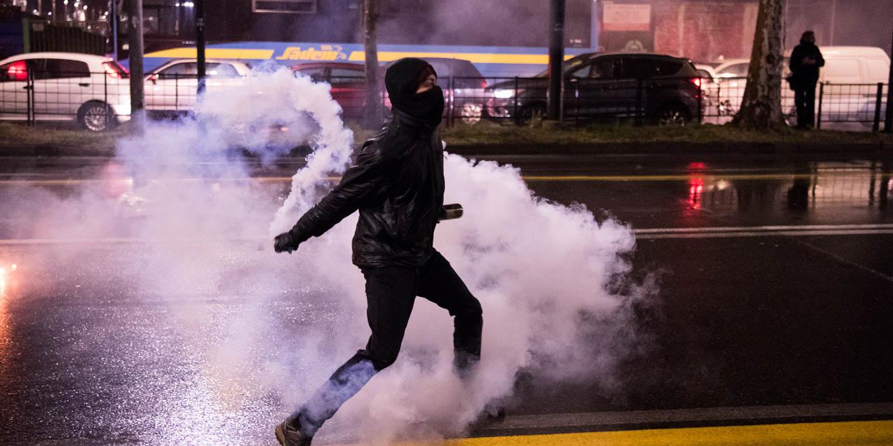 Les affrontements de Turin