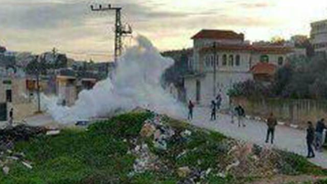 Le raid israélien à Burquin
