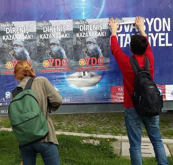 Affiches de la campagne YDG