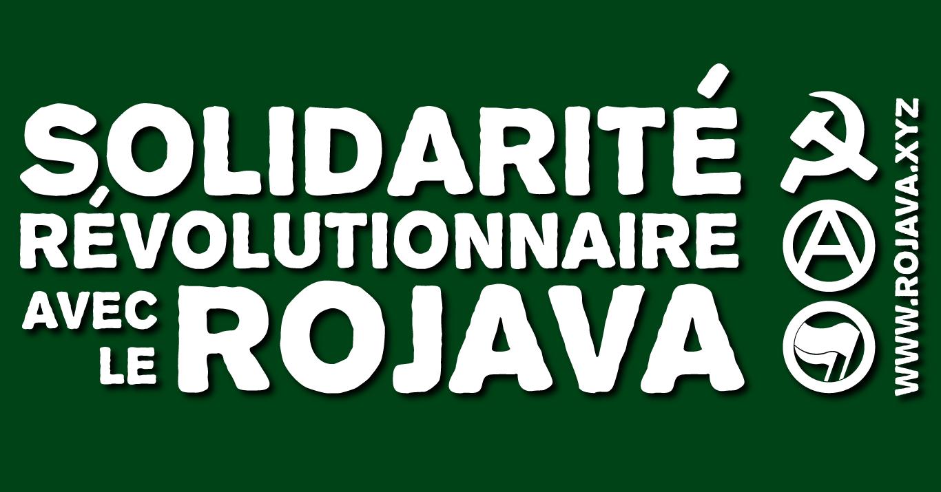 Bloc révolutionnaire en solidarité avec Afrin ce samedi 3 mars