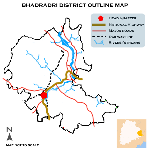 District de Bhadradri (Telengana)