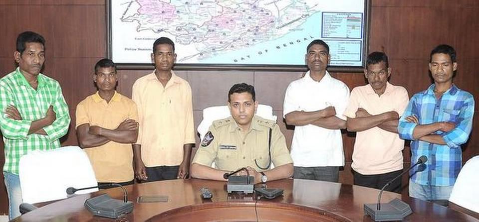Reddition de six membres du PCI(maoïste)