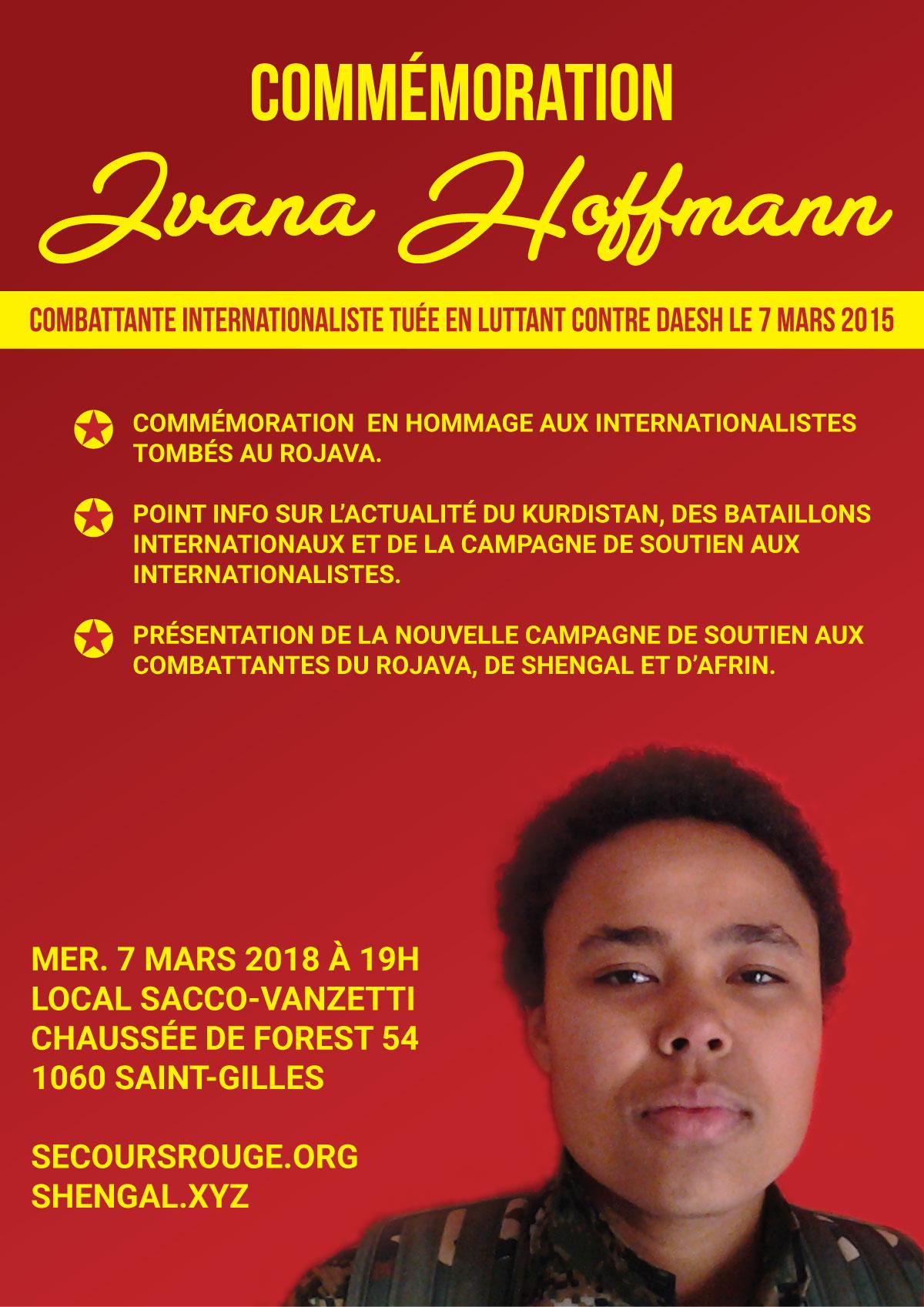 Commémoration Ivana Hoffmann