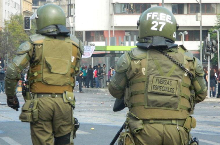 Les affrontements mardi à santiago