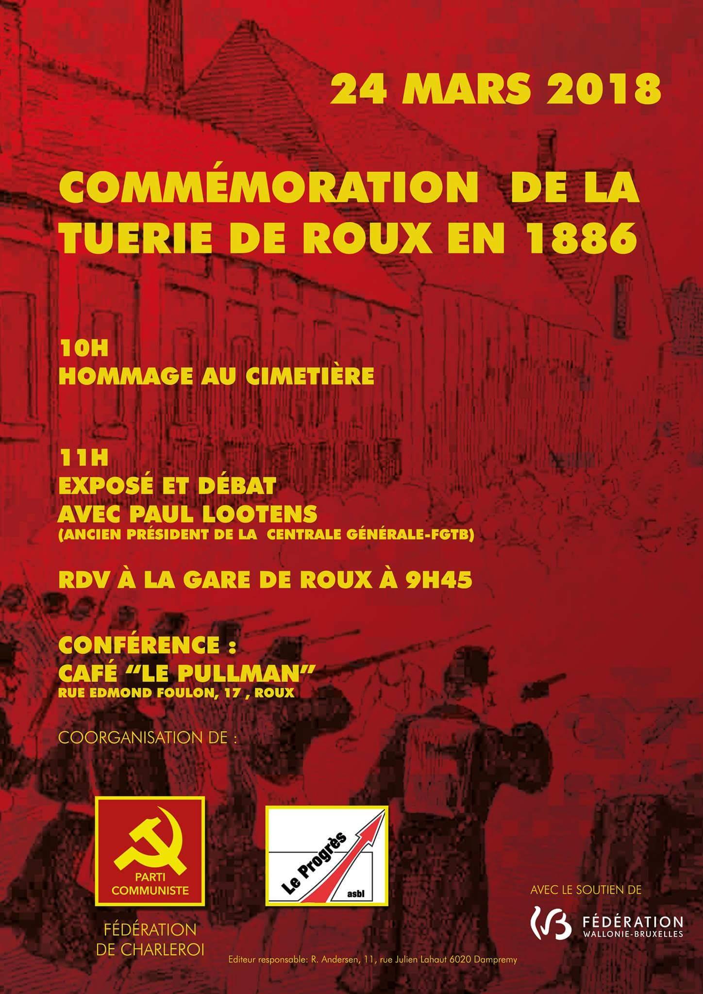 Commémoration du Massacre de Roux