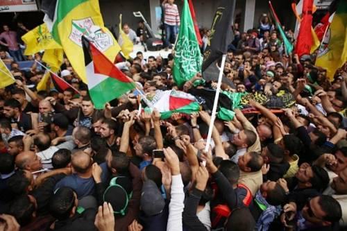 Funérailles d'un manifestant palestinien (archive)