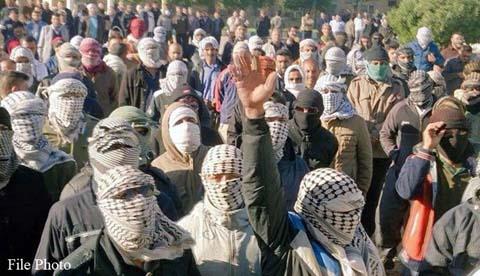 Manifestation des grévistes de Haft-Tapeh