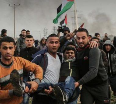 Un manifestant blessé vendredi à Gaza