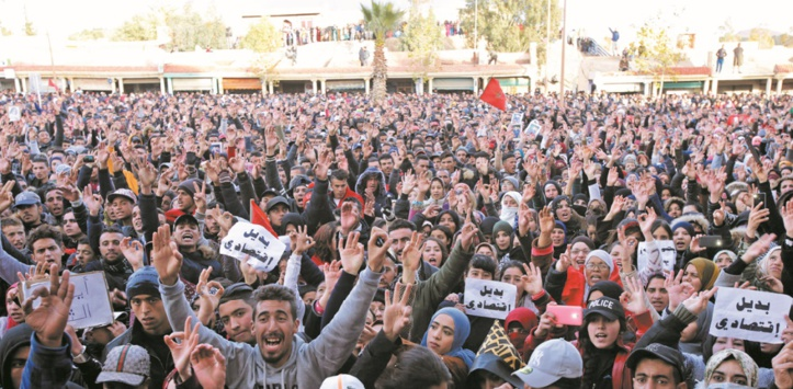 Manifestation à Jerada (archive)