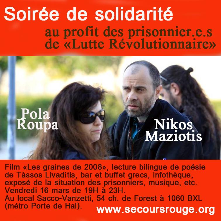 Solidarité avec Pola et Nikos