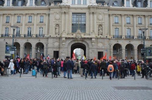 Le rassemblement de Rennes