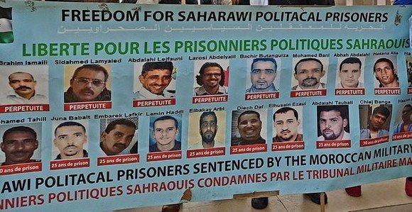 Les prisonniers politiques sahraouis