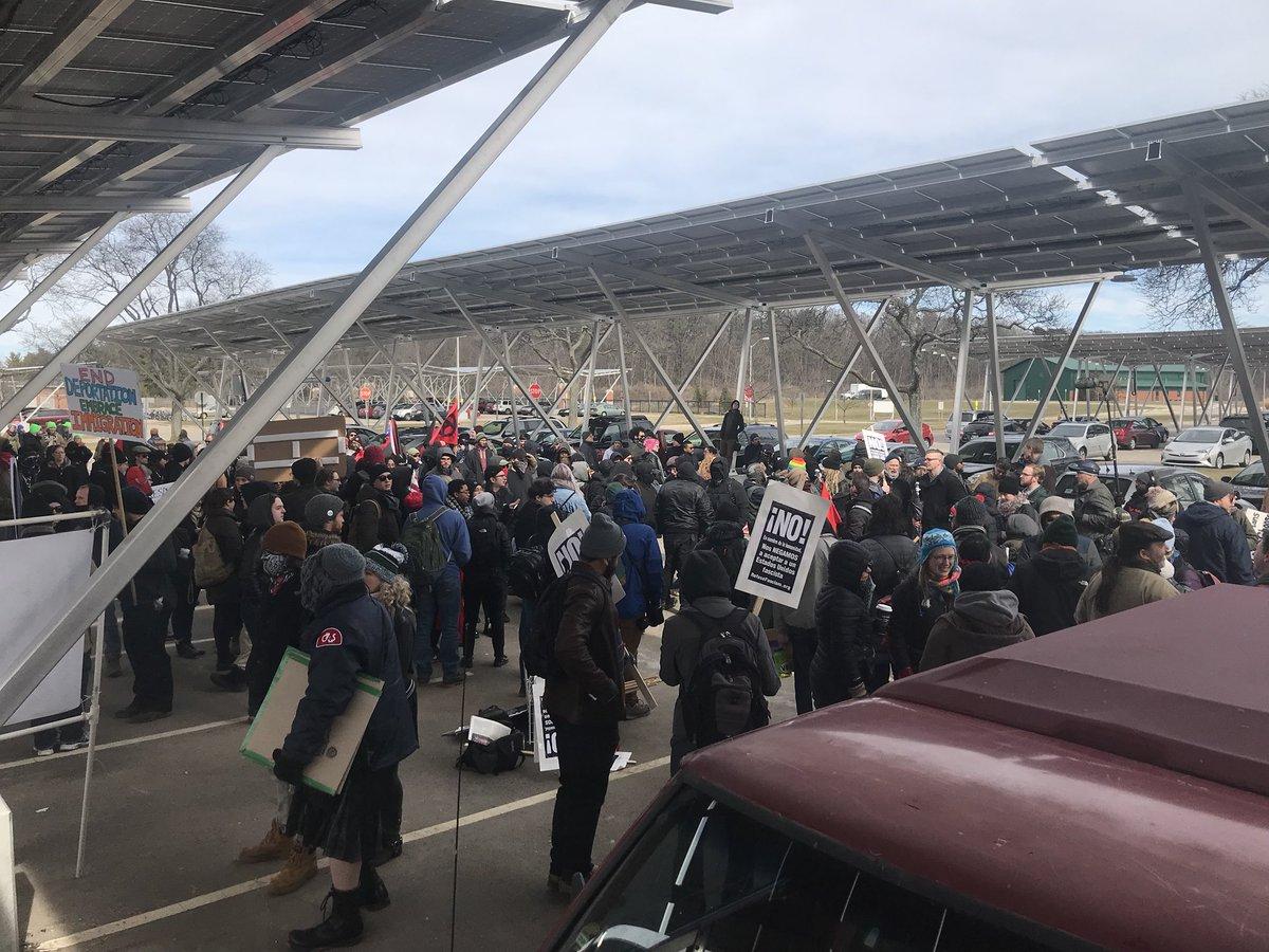 Affrontements et arrestations à East Lansing