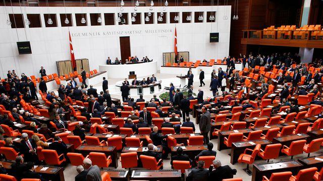 Le parlement turc à Ankara