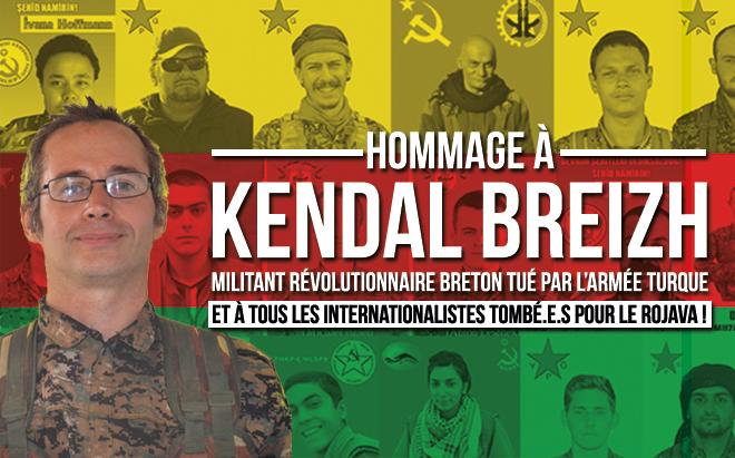 Hommage à Kendal Breizh à Toulouse !
