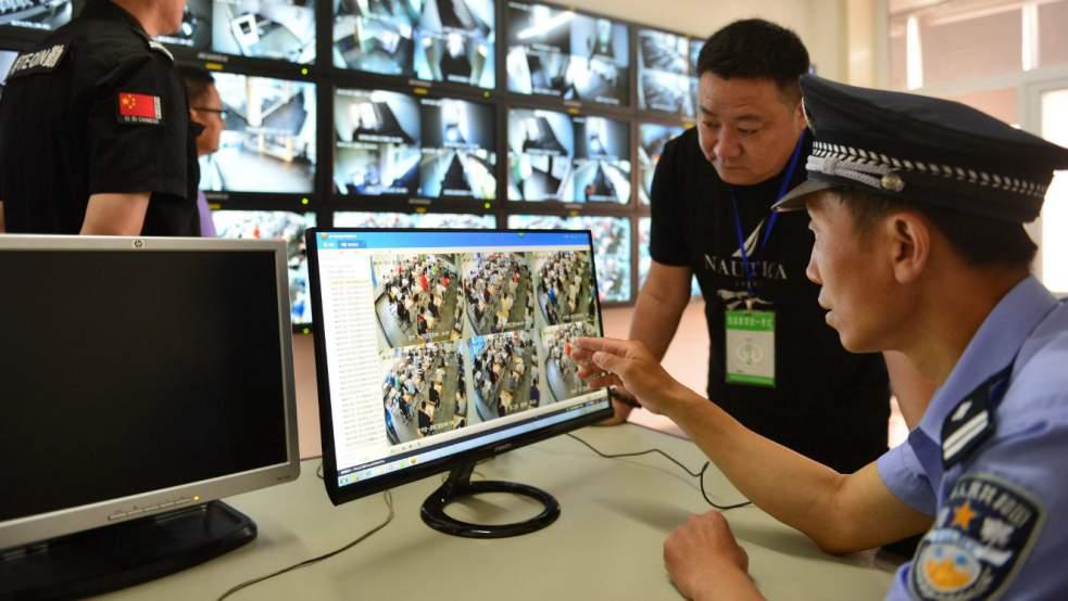Vidéosurveillance en Chine