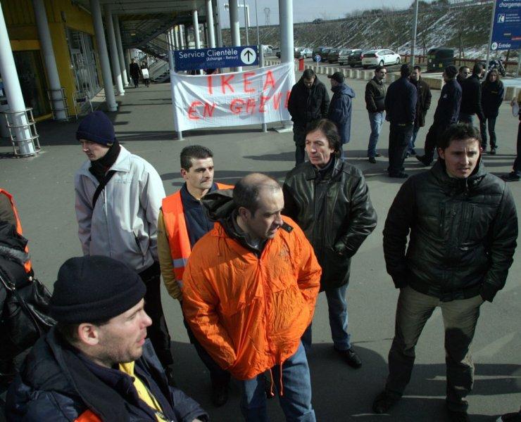 La grève de 2010 chez IKEA