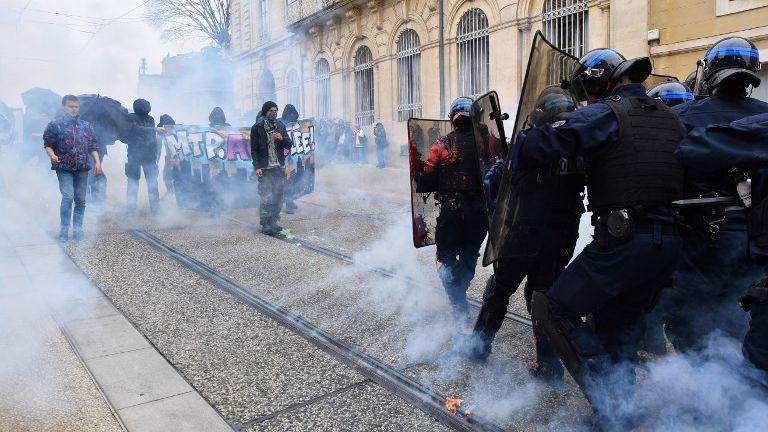 A Montpellier hier samedi