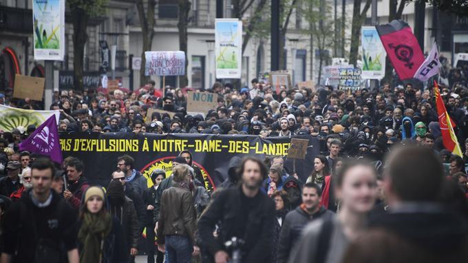 La manifestation de ce samedi à Nantes