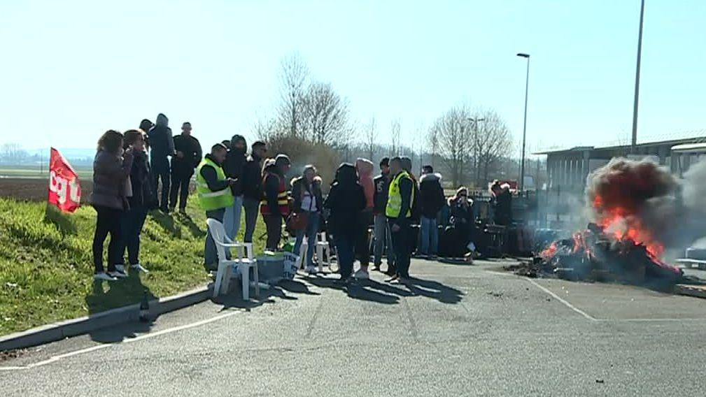 La grève chez Daunat Picardie