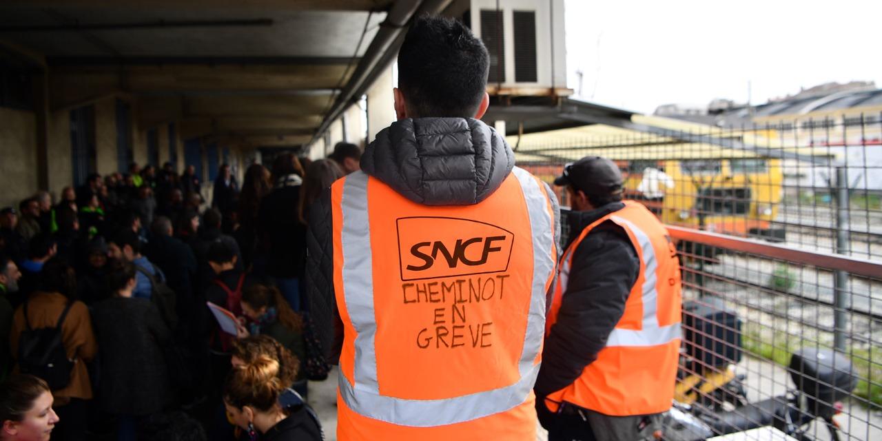 La grève à la SNCF