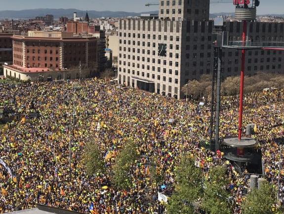 La manifestation de ce dimanche à Barcelone